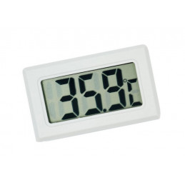 LCD indoor temperature meter (white)  - 1