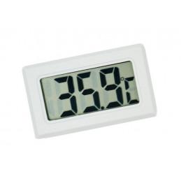 Meter voor temperatuur, thermometer LCD (wit)  - 1