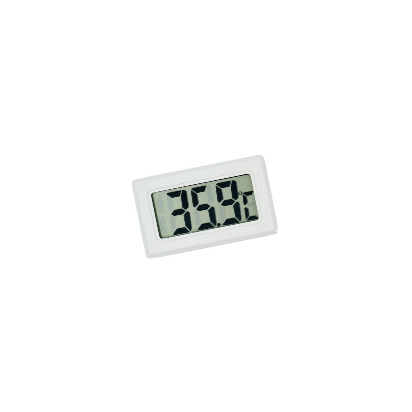 Meter voor temperatuur, thermometer LCD (wit)