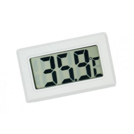 LCD indoor temperature meter (white)