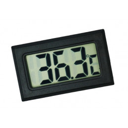 LCD indoor temperature meter (black)  - 1