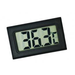 Medidor de temperatura interior LCD (negro)  - 1