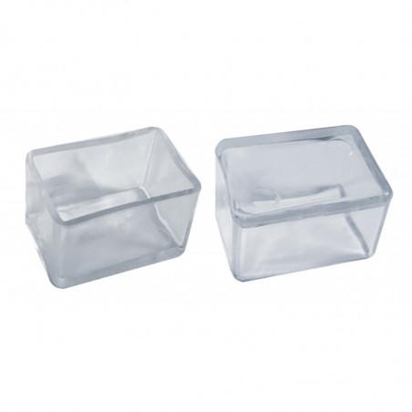 Set von 32 silikonkappen (Außenkappe, Rechteck, 30x40 mm