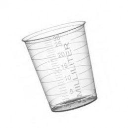 Set von 40 Plastikmessbechern (30 ml, PP-Material, für häufigen Gebrauch)  - 2