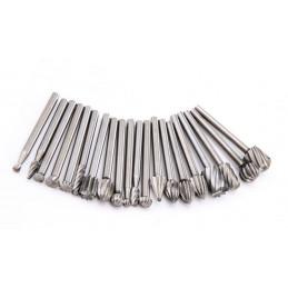 Set mini (dremel) milling cutter/burrs (20 pcs)