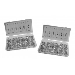 Set of 200 wing nuts (mix assortment M5-M8, M5F-M8F)  - 1