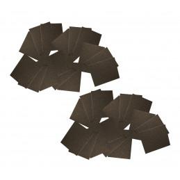 Papier abrasif XXL, 90 feuilles de 20x25 cm (P80, P150, P180)  - 1