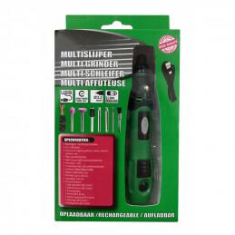 Multislijper met accessoires (oplaadbaar, 3.6 volt)  - 1