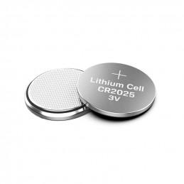 Set von 5 CR2025-Batterien (Knopfzellen, 3V)