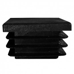 Zestaw 16 czapek na nogi krzesła (F44/E49/D50, czarny)  - 2
