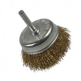 Komborstel, metaalborstel voor boormachine, 75 mm  - 1