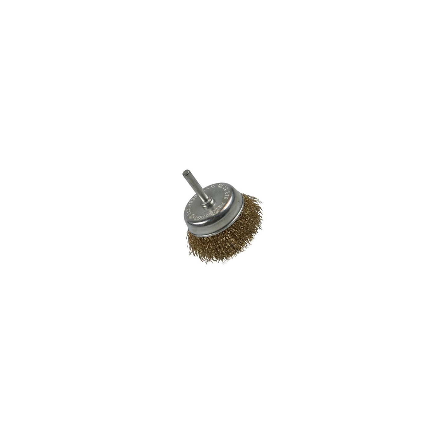 Metal brush for drilling machines, 75 mm  - 1