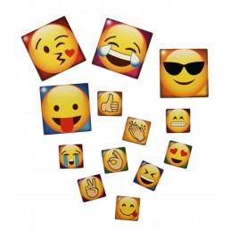 Conjunto de imanes de nevera de 65 emoticonos  - 1