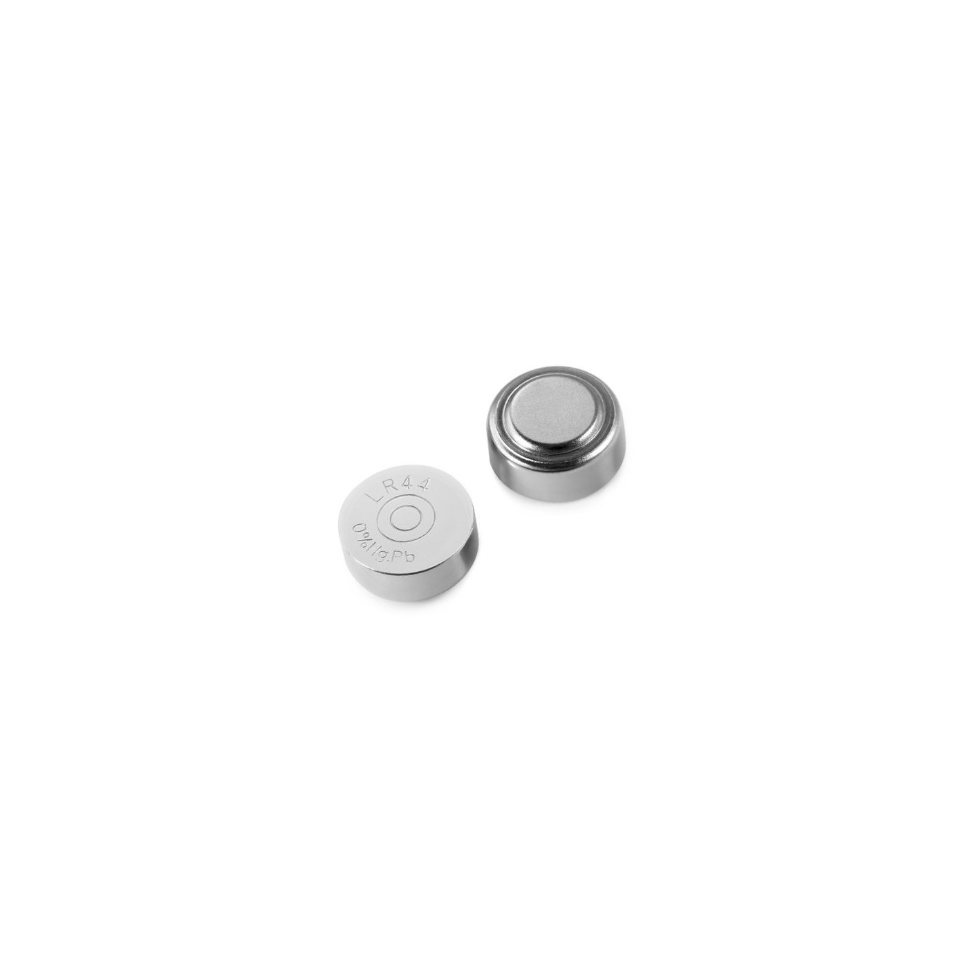 Set of 10 AG13/357A/CX44/LR44W batteries (button cells, 1.55V)  - 1