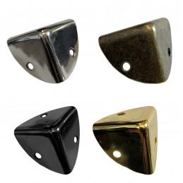 Set van 24 kisthoeken 25x25x25 mm, zwart  - 1