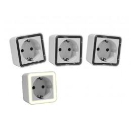 Conjunto de 3 luces nocturnas con sensor de luz (también para niños)  - 1
