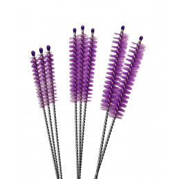 Set of 40 brushes for cleaning, size: XS
