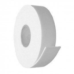 12 rolls of double sided foam tape (24 meters x 18 mm), white  - 1