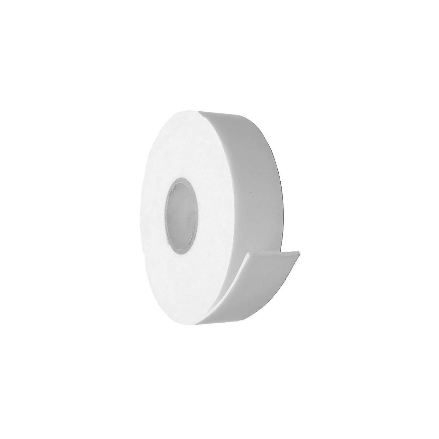 12 rolls of double sided foam tape (24 meters x 18 mm), white