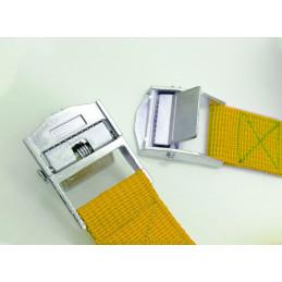 Set von 6 Schnellverschlussgurten (je 3,5 m, gelb)  - 2