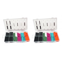 Heat shrink tubing set (240 pieces: 4, 5, 7 and 8 mm)  - 1