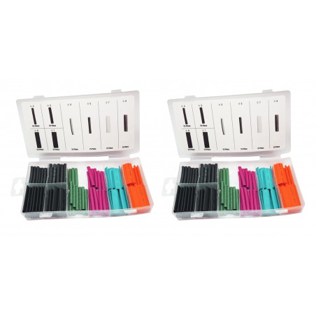 Heat shrink tubing set (240 pieces: 4, 5, 7 and 8 mm)