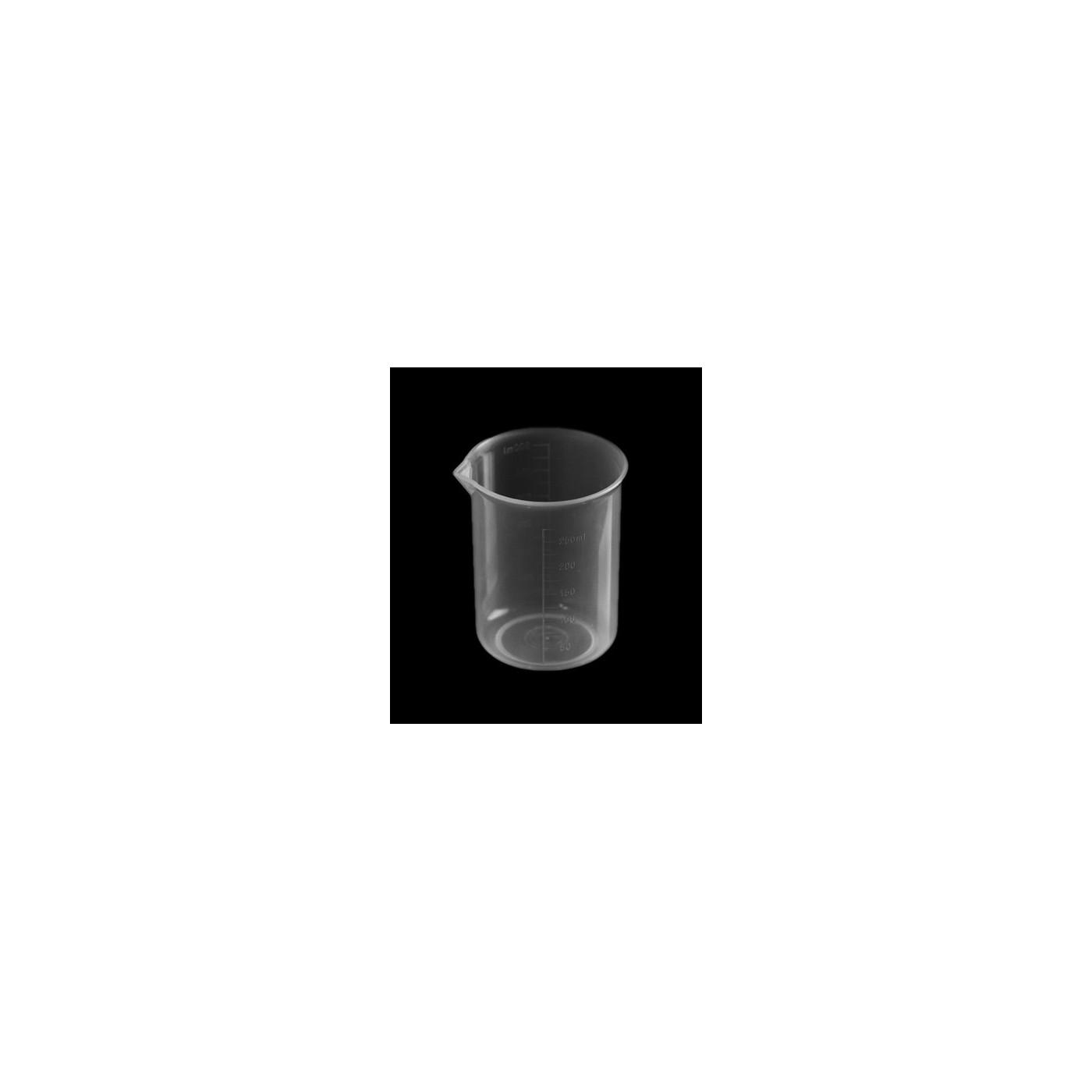 Lot de 20 tasses doseuses (250 ml, transparent, PP, pour usage