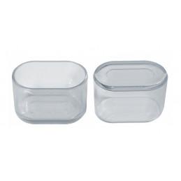 Set von 32 silikonkappen (Außenkappe, oval, 16x34 mm