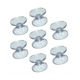 Set van 60 rubber zuignappen dubbel (30 mm)
