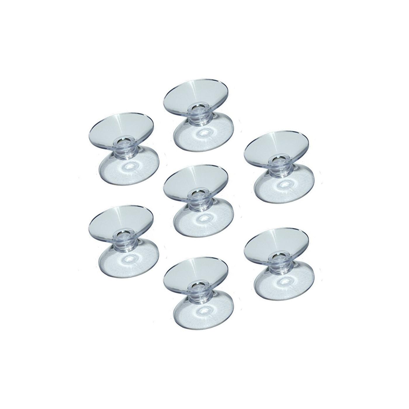 Set von 60 Gummisaugnäpfen doppelt (30 mm)  - 1