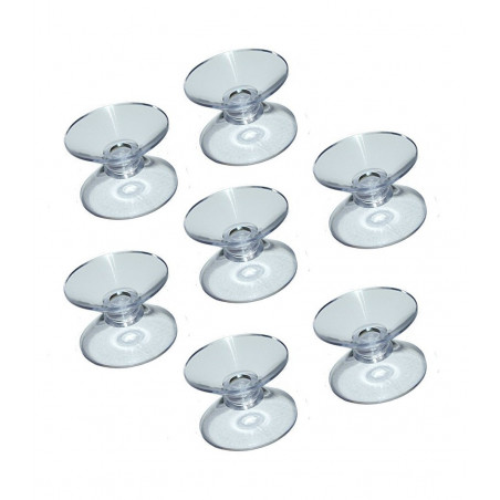 Set of 60 rubber suction cups double (30 mm)  - 1
