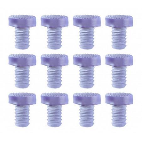 Set van 90 pvc dopjes, buffers, deurdempers (type 3