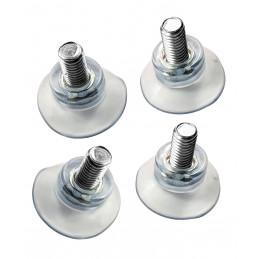 Set von 40 Gummisaugnäpfen (32 mm, mit M8-Stange)
