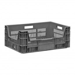 Used stackable crate (strong, plastic, can only be picked up by appointment)  - 1