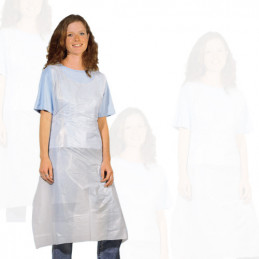 Set of 100 disposable aprons for various activities  - 1
