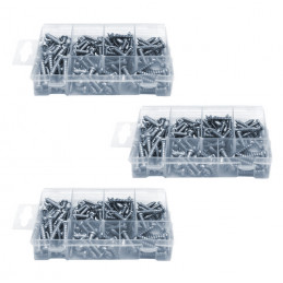 Set of 525 sheet metal screws  - 1