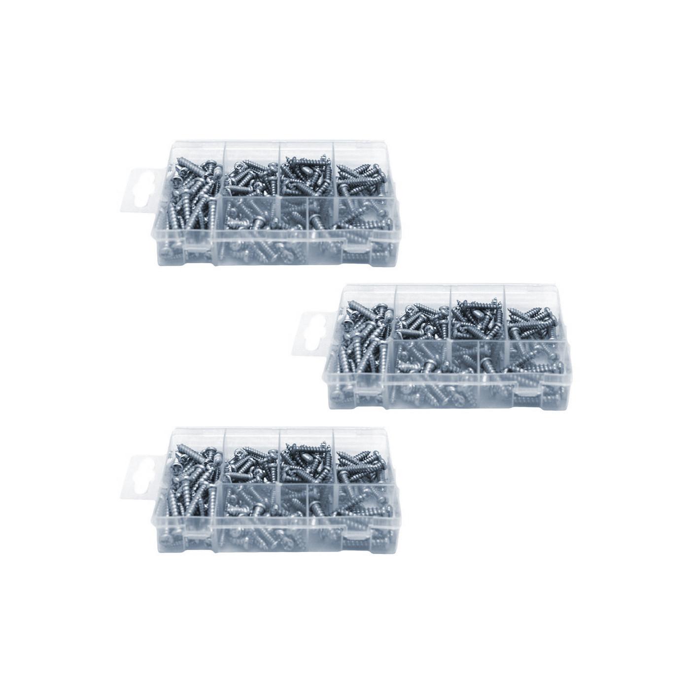 Set of 525 sheet metal screws  - 1