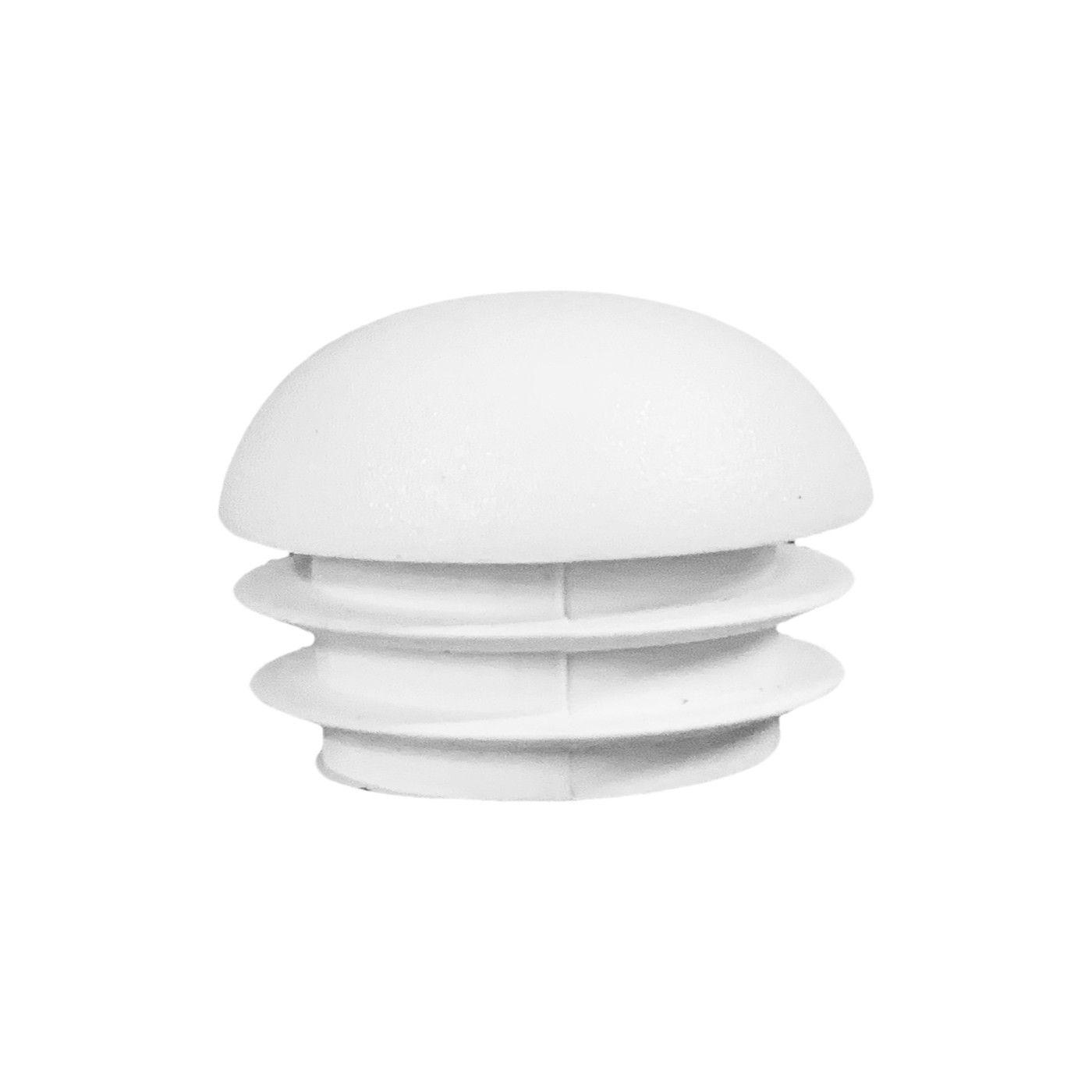Zestaw 32 plastikowych nasadek na nogi krzesła (wewnątrz, kula, okrągły, 25 mm, biały) [I-RO-25-WB]  - 1