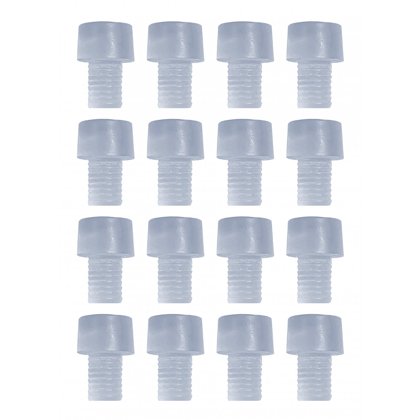 Lot de 150 capuchons PVC, tampons, amortisseurs de porte (type