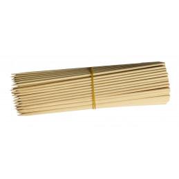 Lot de 250 bâtonnets en bois (5 mm x 20 cm, bouleau)  - 2