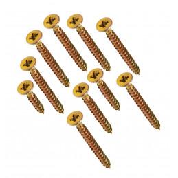 Duży zestaw 664 śrub z łbem krzyżakowym w 2 pudełkach (średnica 3-4 mm, długość 16-50 mm)  - 1