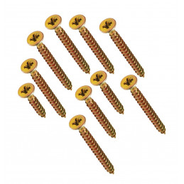 Grote set van 664 kruiskop schroeven in 2 dozen (3-4 mm dia