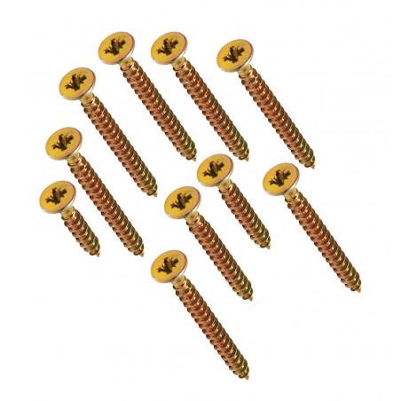 Grand jeu de 664 vis à tête Phillips dans 2 boîtes (3-4 mm de diamètre, 16-50 mm de longueur)  - 1