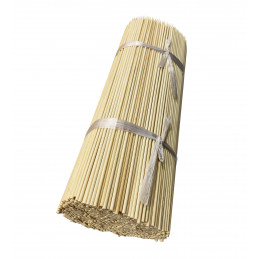 Set of 1000 bamboo sticks (3 mm x 30 cm)