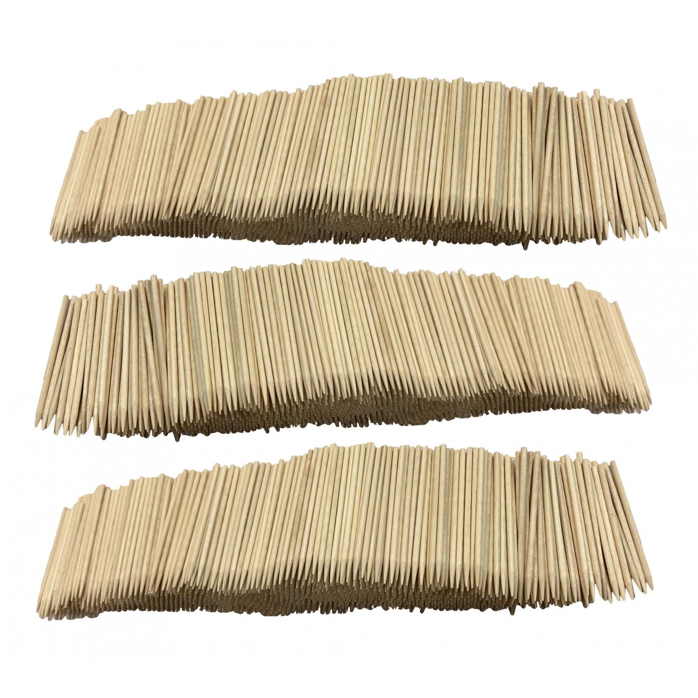 Set van 3000 houten stokjes (2.5 mm x 7 cm)  - 1
