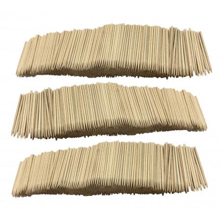 Set von 3000 Holzstäbchen (2,5 mm x 7 cm)