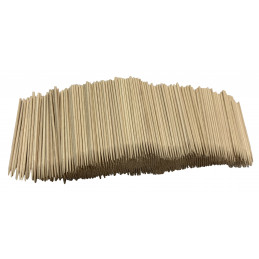 Lot de 1500 bâtons en bois (2,5 mm x 11 cm)