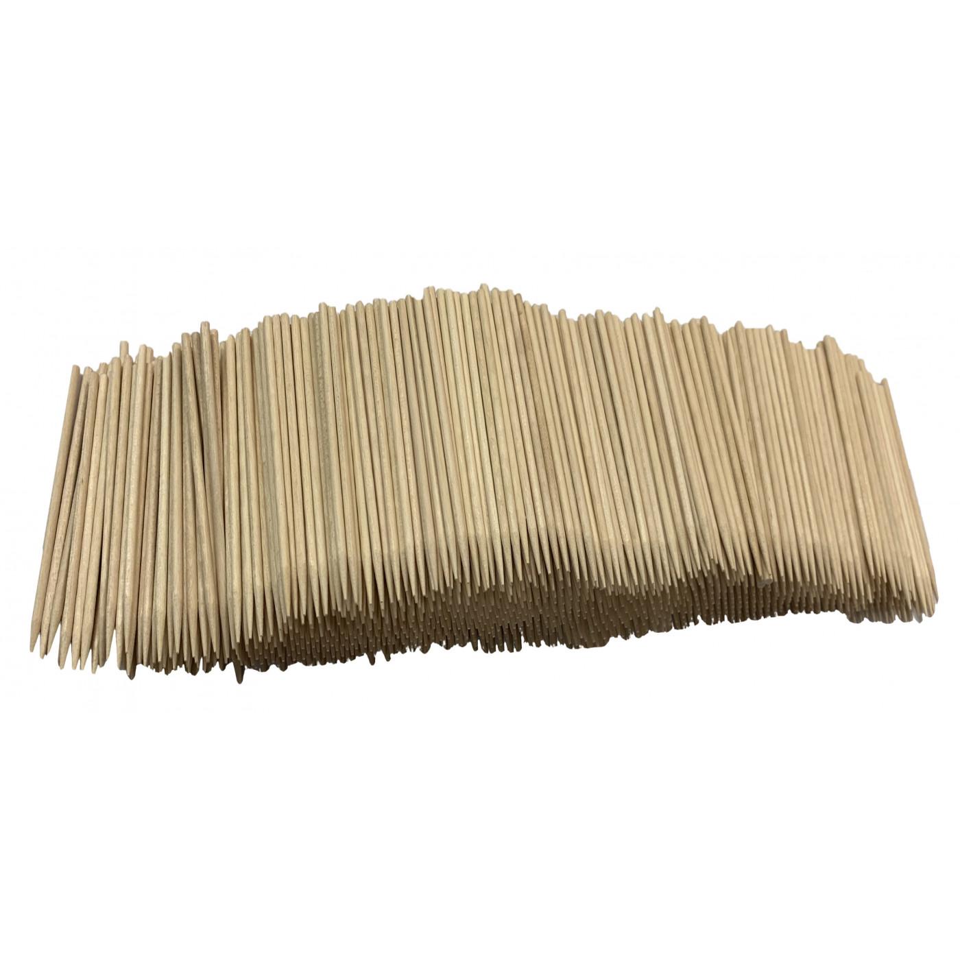 Set van 1500 houten stokjes (2.5 mm x 11 cm)  - 1
