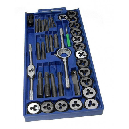 Budget tap and die set (40 pieces)