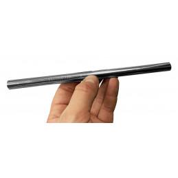 Set von 10 Edelstahlrohren / -strohhalmen (12 mm Durchmesser)  - 2